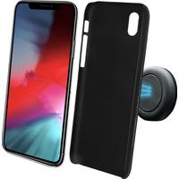 Azuri Magnetische backcover met magnetische autohouder - zwart - iPhone Xs Max Houders