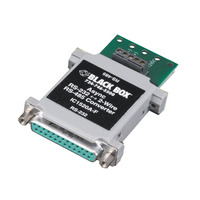 Black Box Async RS-232 to 2-Wire RS-485 Interface Converters Seriële coverters/repeaters/isolatoren - .....