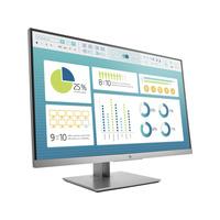 HP EliteDisplay E273 Monitor - Zwart, Zilver