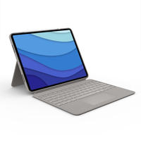 Logitech Combo Touch for iPad Pro 12.9-inch (5th generation) - QWERTZ - Sable