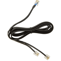 Jabra DHSG cable Telefoon kabel - Zwart