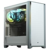 Corsair 4000D Boîtier d'ordinateur - Blanc