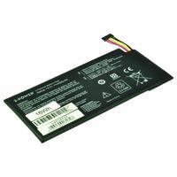 2-Power Tablet Battery 3.7V 4325mAh Li-Polymer Laptop Battery Laptop reserve onderdelen - Zwart