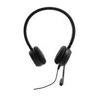 Lenovo Pro Wired Stereo VOIP Casque - Noir