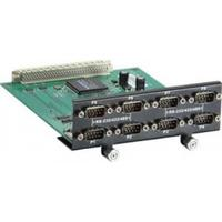 Moxa 8-port RS-232/422/485 serial module with DB9 connector and digital isolation Slot expander