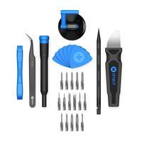 IFixit Essential Electronics Toolkit - Noir, Bleu, Acier inoxydable