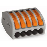Wago 222-415 Borniers électriques - Gris, Orange