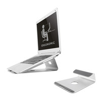 Newstar De NSLS025 is een universele bureausteun voor een notebook of tablet. Laptop steun - Zilver