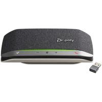 POLY Sync 20+, Standard, USB-C (BT600C) Luidsprekertelefoon - Zwart, Zilver