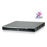 Aten 32 ports Multi-Interface Cat 5 sur IP accès de partage 1 local/2 distants Commutateur KVM - Métallique
