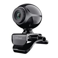 Trust Exis Webcam - Noir
