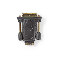 Nedis HDMI™- DVI-Adapter, DVI-D 24+1-Pins Male - HDMI™ Female, Zwart Kabel adapter