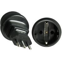 Microconnect PEAIT3MSCF Fiche secteur / adaptateur - Noir