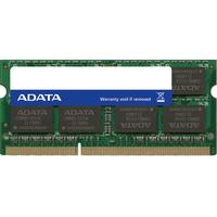 ADATA 4GB, DDR3L, SO-DIMM, 204-Pin, 1600MHz, 11 CAS, 1.35V Mémoire RAM