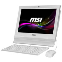 MSI Wind Top AP1622ET-W10374G50XXASXH All-in-one pc - Wit