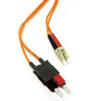 C2G 2m LC/SC LSZH Duplex 62.5/125 Multimode Fibre Patch Cable Fiber optic kabel - Oranje