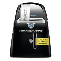 DYMO LabelWriter LabelWriter™ 450 DUO Imprimante d'étiquette - Noir, argent