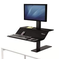 Fellowes Lotus™ VE Sit-Stand Workstation - Zwart