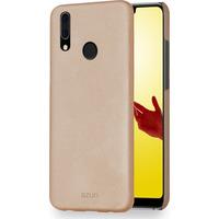 Azuri metallic cover met soft touch coating - goud - voor Huawei P20 Lite