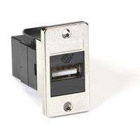 Black Box Coupleur USB pour platine - Noir,Argent