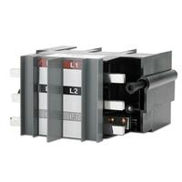 APC Adaptor for T1 Type Circuit Breaker, 3 Pole Netvoeding & inverter - Zwart