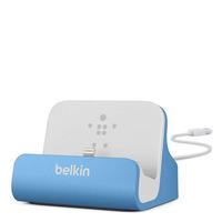 Belkin F8J045BT Docks & port replicator - Blauw,Wit