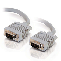 C2G 10m Monitor HD15 M/M cable - Gris