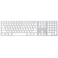 Apple Keyboard with numeric keypad - International English - QWERTY Clavier - Argent