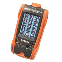 GoldTool ALL-IN-ONE Digital & Cable Tester Multimeter - Oranje