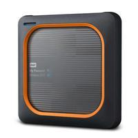 Western Digital My Passport Wireless - Noir, Orange