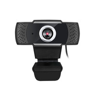 Adesso 2.1 MP, CMOS, 1920 x 1080, 30 fps, USB, 55 x 55 x 50 mm, 28 g Webcam - Noir,Argent