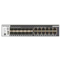 Netgear M4300-12X12F Switch - Zwart