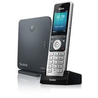 """Yealink 2.4"""", 240 x 320, TFT, 30 h, Lithium, CAT-iq2.0, Silver Téléphone IP - Noir, argent"""