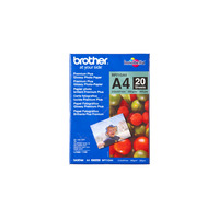 Brother BP-71GA Glossy A4 20 sheets Fotopapier - Blauw, Rood