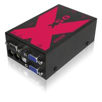 ADDER Link X50 MultiScreen Console à rallonger - Noir