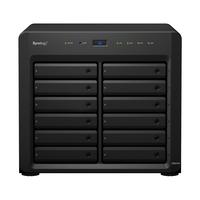 "Synology DiskStation DS2419+, Intel Atom C3538, 4 GB DDR4, 12x 3.5/2.5"", 4x RJ-45, 2x USB 3.0, 270x300x340 mm ....."
