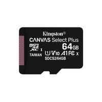 Kingston Technology Canvas Select Plus 64GB Flashgeheugen - Zwart