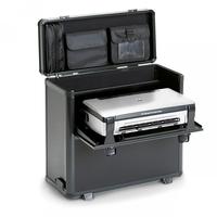 Dicota DataBox XL Trolley HP OJ 200 Etuis voor mobiele apparatuur - Zwart