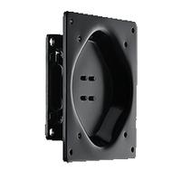 Advantech VESA 75x75/100x100, 20kg Capacity, Steel, Black Support d'écran - Noir