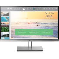 HP EliteDisplay E233 HO + IWC Stand f/Ultra Slim Desktop & Thin Client Monitor - Zwart, Zilver