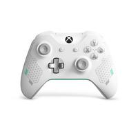 Microsoft Xbox Wireless Controller – Sport White Special Edition Contrôleur de jeu - Couleur menthe,Blanc