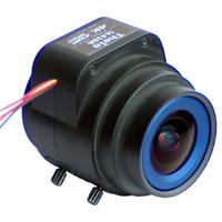Theia 4-10mm, C-mount, 12.4 megapixel, F/2.4, 0.5m, 64mm, Manual iris Lentille de caméra - Noir