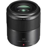 Panasonic Lumix G Macro 30mm / F2.8 ASPH. / MEGA O.I.S. Lentille de caméra - Noir