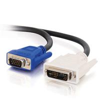 C2G 2m DVI-A M / HD15 M Cable - Noir