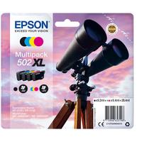 Epson 502XL Inktcartridge - Zwart, Cyaan, Magenta, Geel