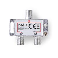 Nedis SSPL200ME Répartiteur de câbles - Argent
