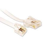 Microconnect Cable RJ11-RJ45, Male/Male, White, 2.0m Telefoon kabel - Wit