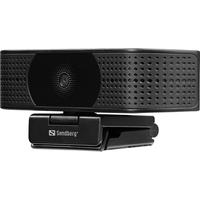 Sandberg USB Pro Elite 4K UHD Webcam - Noir