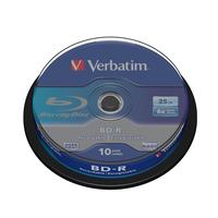 Verbatim BD-R SL 25GB 6 x 10 Pack Spindle Disques vierges Blu-Ray
