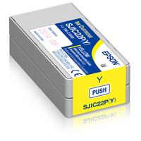 Epson SJIC22P(Y) Inktcartridge - Geel